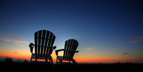 Chairs Sunset