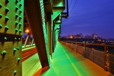 Crossing High Level Bridge