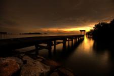 Dickson Dock Sepia