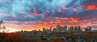 Edmonton City Skyline 5