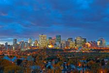 Edmonton City Skyline 6