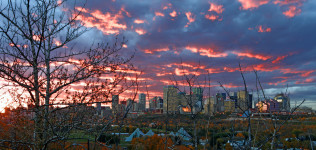 Edmonton City Skyline 7