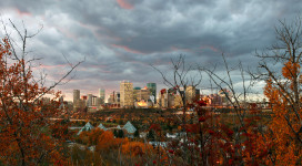 Edmonton City Skyline 8