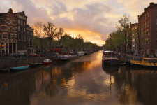 Golden Sunset Amsterdam