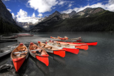 Lake Louise Coloured
