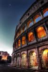 Moonrise Rome