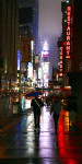 Raining in Manhattan