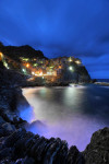 Riomaggiore at night