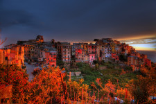 Sunset In Corniglia