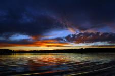 Sunset at Buck Lake